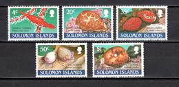 SALOMON  N° 696 à 700     NEUFS SANS CHARNIERE  COTE 6.00€     ANIMAUX - Solomon Islands (1978-...)