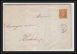 1776 Indre-et-Loire Napoléon N°13 T1 Pc Chinon Pour RICHELIEU 14/4/1860 LAC Lettre Cover France - 1849-1876: Klassik