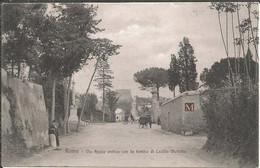 Roma - Via Appia Antica Con La Tomba Di Cecilia Metella - Other Monuments & Buildings