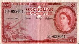BILLET BRITISH CARIBBEAN TERRITORIES 1 DOLLAR 1962 - East Carribeans