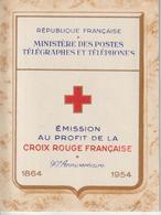 France Carnet Croix Rouge 1954 ** MNH - Cruz Roja
