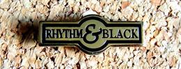 Pin's MUSIQUE - Label Discographique COLUMBIA Collection RHYTHM & BLACK - Métal Doré - Fabricant DEMONS & MERVEILLES éco - Music