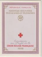 France Carnet Croix Rouge 1958 ** MNH - Cruz Roja