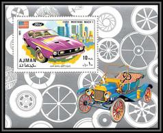 Ajman - 2503b/ N° Bloc 291 A Voiture (Cars) Sport Cars ** MNH Ford Mustang - Ajman