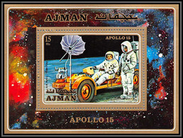Ajman - 2692c/ N° 279 A Espace (space) Apollo 15** MNH 1971 Moon Buggy - Ajman