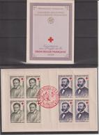 France Carnet Croix Rouge 1958 Oblitération Toulouse 1958 - Red Cross