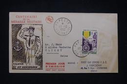 OCÉANIE - Enveloppe FDC En 1952 - Médaille Militaire - L 95173 - Lettres & Documents
