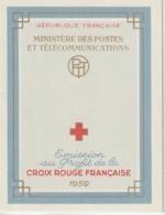 France Carnet Croix Rouge 1959 ** MNH - Cruz Roja