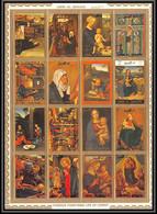 0129c/ Umm Al Qiwain ** MNH Michel N°1162/1177 A Life Of The Christ Peinture Tableaux Paintings - Umm Al-Qaiwain
