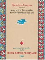 France Carnet Croix Rouge 1961 ** MNH - Cruz Roja