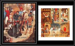 0141/ Umm Al Qiwain ** MNH Michel N° 515/520 A Bloc N°39 A MEMLING Flemish Passion Of Christ Easter Paintings Tableaux - Umm Al-Qaiwain