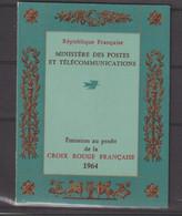 France Carnet Croix Rouge 1964 ** MNH - Cruz Roja
