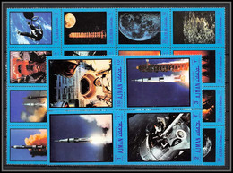 Ajman - 2967/ N°593/612 A Apollo And Gemini 1970 Espace (space) Neuf ** MNH - Ajman