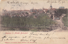 3088) POZDRAV Z. MLADE BOLESLAVI - - Tolle Alte LITHO  1903 - República Checa