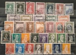TURQUIE - 1930/1938 - 2 Séries Presque Complètes O à Voir - Usati