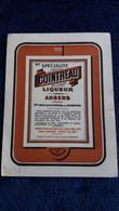 PUBLICITE COINTREAU LIQUEUR ANGERS  RECETTE GLACE COCKTAILS  CREPES SUZETTE  FORMAT 10 PAR 13.5 CM - Alcohol