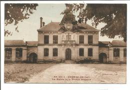 17.2135/ CHERAC - La Mairie Et La Groupe Scolaire - Otros Municipios