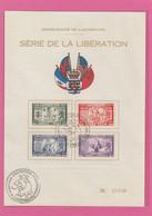 SERIE LIBERATION SUR FEUILLET . - Covers & Documents