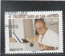 FRANCE 2020 - FREDERIC DARD SAN ANTONIO - OBLITERE YT 5405 - 2010-.. Matasellados