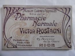 Pharmacie Normale Victor Romagni - 45 Avenue De La Gare, Nice - Album 7 Vues + 32  P De Pub Produits Pharmaceutiques - Otros