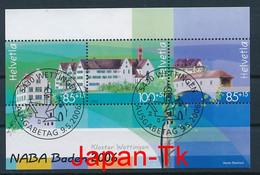 SCHWEIZ Mi. Nr. Block 40 Nationale Briefmarkenausstellung NABA '06, Baden - Used - Blocks & Kleinbögen