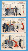 """PUBLICITE - Pour Les Fours """"le Rustique Odelin"""" Lot De 9 Cartes - Pubblicitari"""