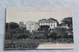 Cpa 1918, Saint Denis, Institution De Jeunes Filles, Façade Du Midi, Aude 11 - Other Municipalities