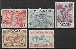 Griechenland 1935/1937 Kleines Lot  ** - Nuevos