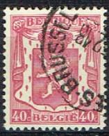B 44 - BELGIQUE N° 479 Obl. Armoiries Petit Sceau - 1935-1949 Kleines Staatssiegel