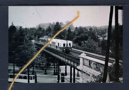 PHOTO WOLUWE TRAIN PONT TRAM - Woluwe-St-Pierre - St-Pieters-Woluwe