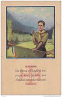 F8 SCOUTISME - LA LOI SCOUTE.LE SCOUT EST LOYAL  A SON PAYS , SES PARENTS , SES CHEFS ETC..  - CORRESPONDANCE  MONTAUBAN - Scouting