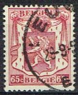 B 45 - BELGIQUE N° 711 Obl. Armoiries Petit Sceau - 1935-1949 Kleines Staatssiegel