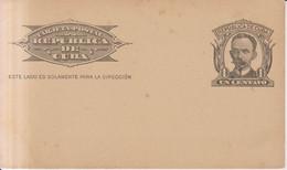 Antillas Cuba Año 1900 Entero  Postal    1 Centavo - Covers & Documents