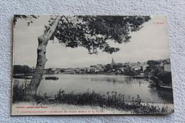 Cpa 1916, Castelnaudary, Panorama Du Grand Bassin Et La Ville, Aude 11 - Castelnaudary