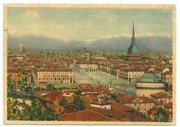 A4891 Torino - Panorama Della Città / Viaggiata 1953 - Multi-vues, Vues Panoramiques