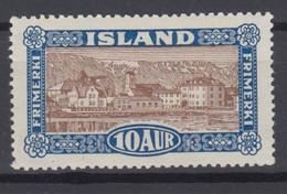 Iceland 1925 - Michel 115 Mint Hinged * - Ungebraucht