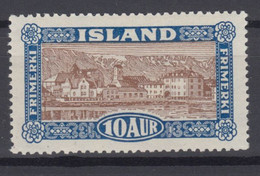 Iceland 1925 - Michel 115 Mint Hinged * - Ongebruikt