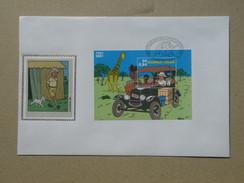 Kuifje - Tintin. BL 93 Op Zijde - BL93 Sur Soie. - 2001-10