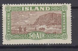 Iceland 1925 - Michel 115 Mint Hinged * See Description! - Ongebruikt