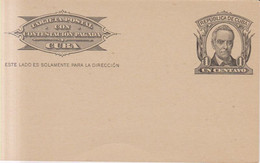 Cuba Año 1900 Tarjeta  Postal    1 Centavo - Maximum Cards