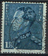 B 47 - BELGIQUE N° 430 Obl. Léopold III - 1934-1935 Leopold III.