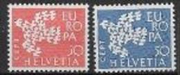 Suisse 1961 Neufs ** N° 682/683 Europa - 1961
