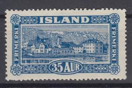 Iceland 1925 - Michel 117 Mint Hinged * See Description! - Ongebruikt