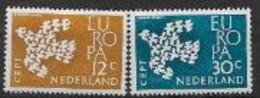 Pays Bas 1961 Neufs ** N° 738/739 Europa - 1961