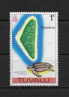 TUVALU * 1976 * Stamp * MNH** Turtle - Mi.No 23 - Tuvalu (fr. Elliceinseln)
