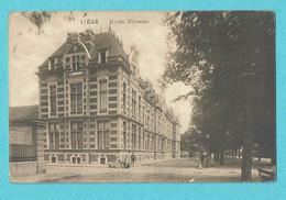 * Liège - Luik (La Wallonie) * (237 Bis) école Normale, Normaal School, Schule, Entrée, Animée, Parc, Old - Liege