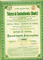 TÔLERIES De CONSTANTINOWKA (Donetz); 1913 - Russia