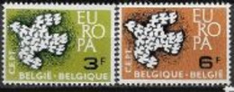 Belgique 1961 Neufs ** N° 1193/1194 Europa - 1961