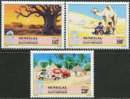 SENEGAL 1994 16th Paris-Dakar I Rally Cars Camel Camels Animals Fauna MNH - Other