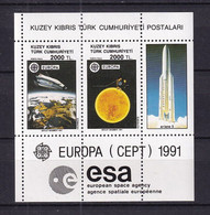 Cyprus (Turkey) 1991 Europa-CEPT MNH - 1991